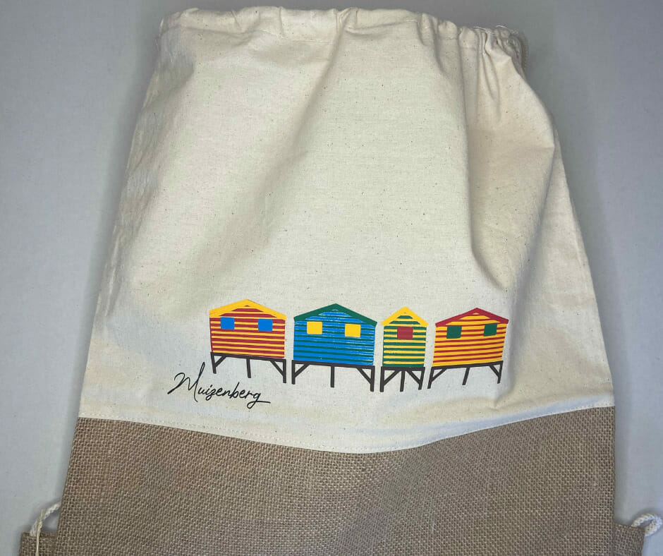 Muizenberg Beach Bag (by Dreaming Decals)