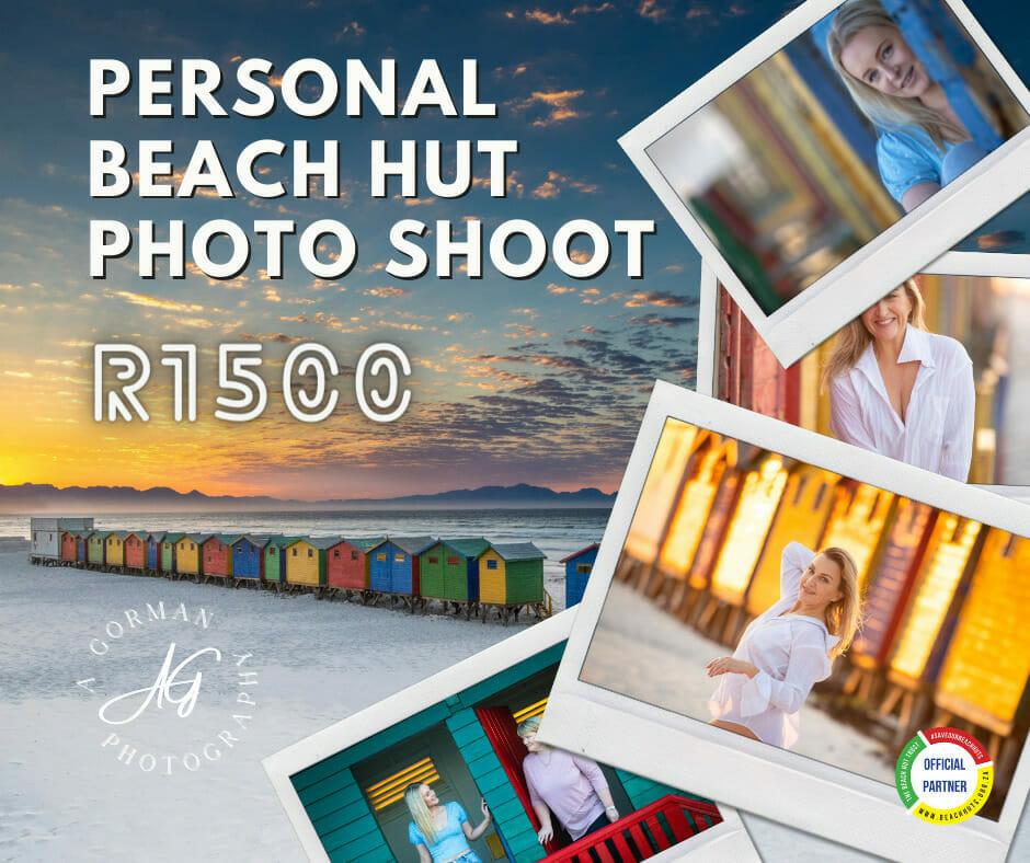 Personal Beach Hut Photo Shoot (by A Gorman Photography)